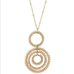Panacea Crystal Orbital Pendant Necklace